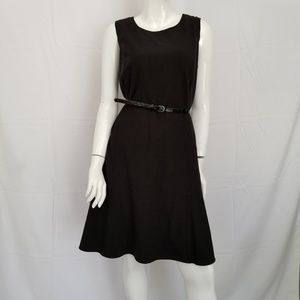 Calvin Klein Fit and Flare Dress Sleeveless Sz 14W
